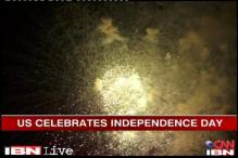 Watch: Fireworks at the Statue of Liberty as US celebrates Independence Day