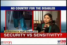 Should sensitivity towards differently abled at airports be compromised with safety?