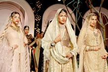 Sophie Choudry, Prateik and Amyra Dastur walk the ramp at India Bridal Fashion Week