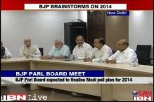 Delhi: BJP meeting expected to finalise Modi's plan for 2014 LS polls