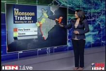 Monsoon tracker: Severe thunderstorm expected in Western Coast, Northeastern states