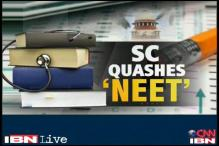 SC quashes NEET for medical courses, Health Minister upset