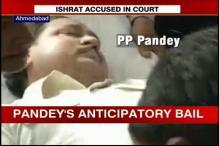 Ishrat Jahan case: IPS officer PP Pandey carried inside court on a stretcher