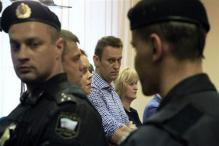 Protests erupt as Russian opposition leader gets 5-year jail term for embezzlement