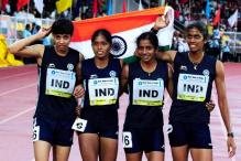 Indian women clinch gold in 4x400m relay on final day