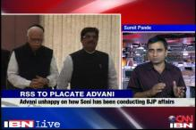 RSS tries to placate Advani, sidelines its key coordinator
