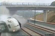 Spain train crash: Police detain driver as suspect