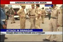 Grenade attack in Batmaloo area of Srinagar, 3 injured
