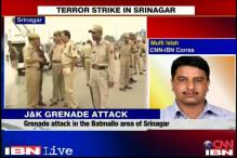 Srinagar: Hizbul terrorist killed in grenade attack