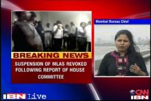 Maharashtra policeman assault: Suspension of 5 MLAs revoked