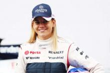 Susie Wolff makes full F1 test debut at Silverstone