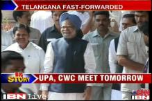 CWC to decide on Telangana, Centre sends more security forces to Andhra