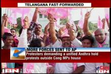 UPA set to decide on Telangana, Centre sends more forces to Andhra