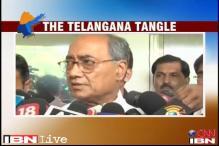 Telangana decision at Cong Working Committee meet on Tuesday: Digvijaya