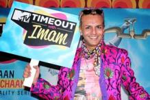 The various antics of Imam Siddiquie at the launch of his new TV show