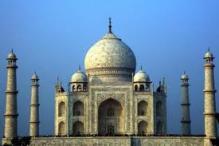 Two-storeyed underground parking coming up near Taj Mahal