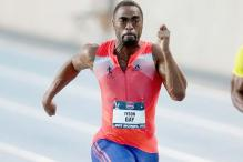 Adidas suspends contract with Tyson Gay