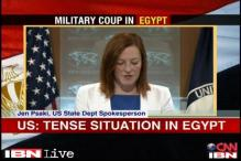 US expresses concern over coup in Egypt