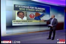 Telangana statehood: Who stands where