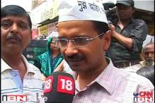 Delhi: AAP members detained for protesting outside PM's house against changes in RTI act