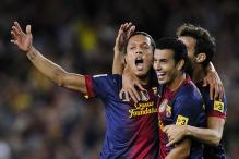 Barcelona's Adriano doubtful for Spanish Super Cup