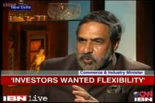 Govt was forced to relax FDI norms as no investment was coming: Anand Sharma