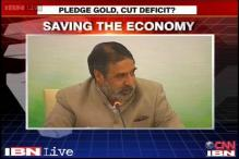 Use gold reserves to revive the economy, suggests Anand Sharma
