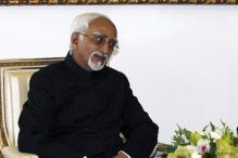 Vice President Hamid Ansari meets new Iranian president