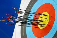 Triumphant Indian women archers return home