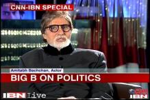 No politics for me, want to be loved for my acting, says Big B