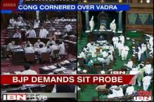 Congress under attack in Parliament over Robert Vadra land deals