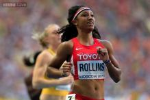 Brianna Rollins of US clinches women's 100m hurdles in Moscow