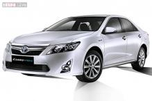Toyota Camry Hybrid launched in India at Rs 29.75 lakh
