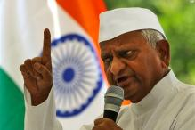 Case against Anna Hazare for showing 'disrespect' to national flag