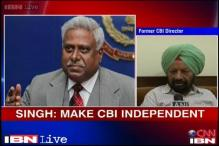 Former CBI chief says the agency should be made independent