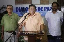 Colombian rebels suspend peace talks in Havana