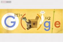 Erwin Schrodinger's 126th birthday celebrated in Google doodle