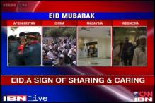People across India, world celebrate Eid
