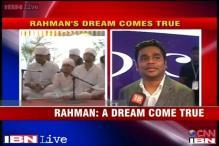 A dream has come true, says AR Rahman