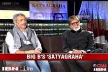 Satyagraha: Big B talks about revolution