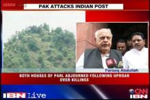 No time to do politics on LoC killings, says Farooq Abdullah