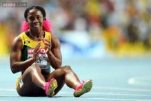 Shelly-Ann Fraser-Pryce wins women's 200 meters in Moscow