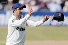 Gambhir scores century in second innings against Gloucestershire