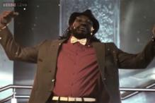 Chris Gayle sings in Hindi for a TV commercial