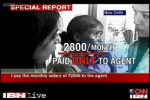 Minor girls sold to urban households as domestic workers