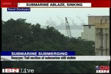 Rooftop view of Naval dockyard where INS Sindhurakshak caught fire