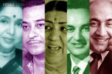 Poll: Who is Hindi film music's greatest voice - Asha, Kishore, Lata, Mukesh or Rafi?