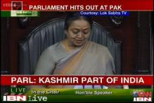 Indian Parliament resolution warns Pakistan not to test its patience