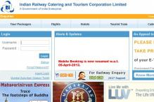 Record booking of e-tickets on IRCTC website