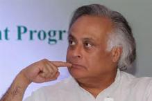 Jairam Ramesh gifts mini-bus to girl footballers